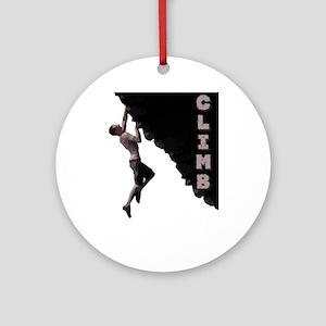 Climb Ornament (Round)
