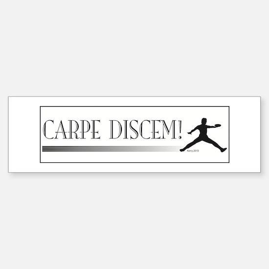 CarpeDiscem Bumper Bumper Bumper Sticker
