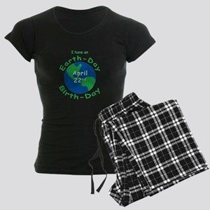 Earth Day Birthday Women's Dark Pajamas