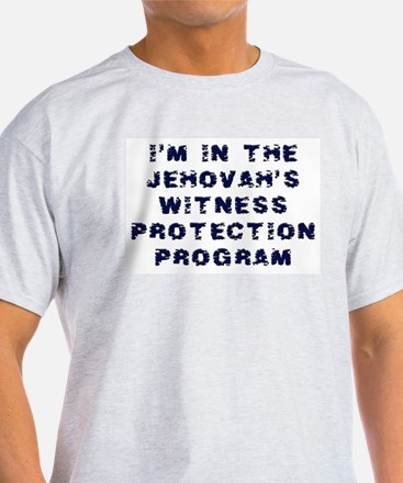 Jehovah's Witness Protection Ash Grey T-Shirt