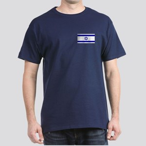 Israel Flag T-Shirt (Dark)