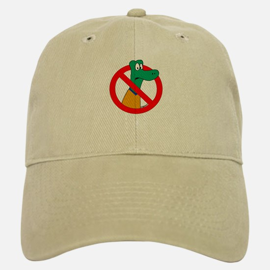 Anti-Gators Baseball Baseball Cap
