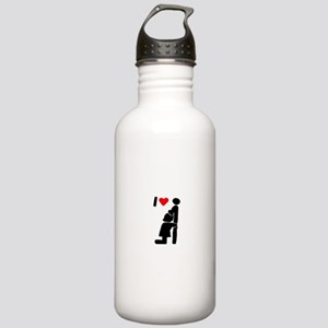 Steak & BJ Day Stainless Water Bottle 1.0L