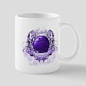 Bowling Grandma (Purple) Mug