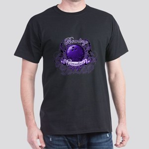 Bowling Grandma (Purple) Dark T-Shirt
