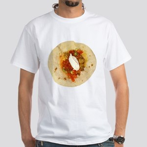 I Love Mexican Food White T-Shirt