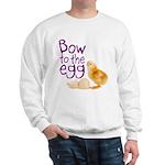 Bow to the Egg Sweatshirt