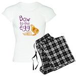 Bow to the Egg Women's Light Pajamas
