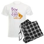Bow to the Egg Men's Light Pajamas