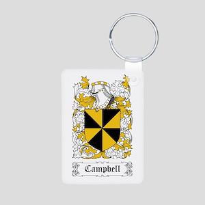 Campbell Aluminum Photo Keychain