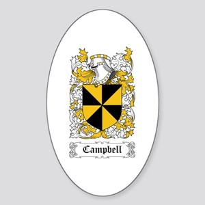 Campbell Sticker (Oval)