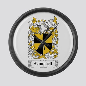 Campbell Large Wall Clock
