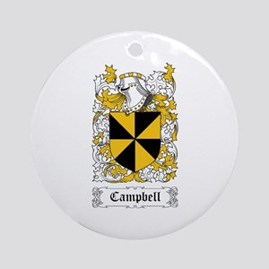 Campbell Ornament (Round)