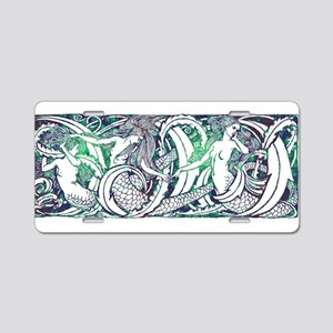 Watermark Aluminum License Plate