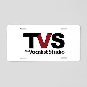 The Vocalist Studio - Shield Aluminum License Plat