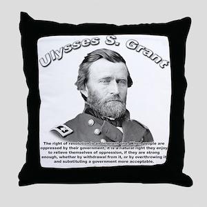Ulysses S. Grant 02 Throw Pillow