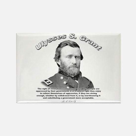 Ulysses S. Grant 02 Rectangle Magnet