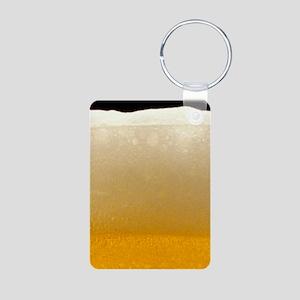 Beer Aluminum Photo Keychain