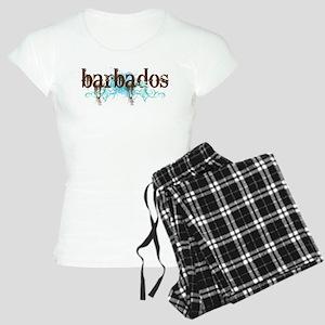 Barbados Grunge Women's Light Pajamas