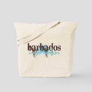 Barbados Grunge Tote Bag