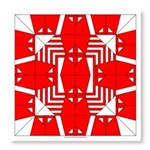 Red Owls Photo Wall Tile
