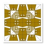Brown Owls Photo Wall Tile
