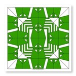 Green Owls Photo Wall Tile