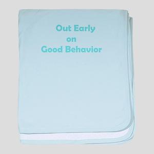 Good Behavior baby blanket