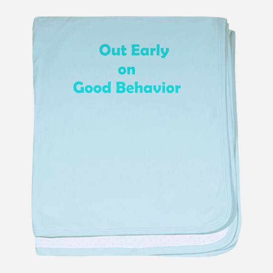 Good Behavior baby blanket