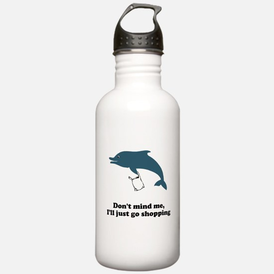 Dolphins Plastic Bags Shirt F Water Bottle