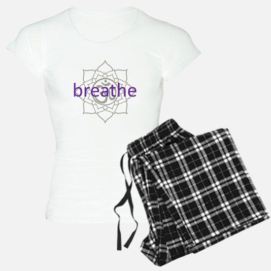 breathe Om Lotus Blossom Pajamas