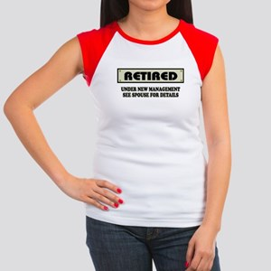 e90bb788 Retirement Gag Women's Cap Sleeve T-Shirts - CafePress