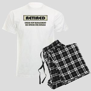 Funny Retirement Gift, Retire Men's Light Pajamas