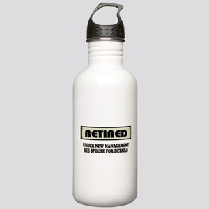 Funny Retirement Gift, Stainless Water Bottle 1.0L