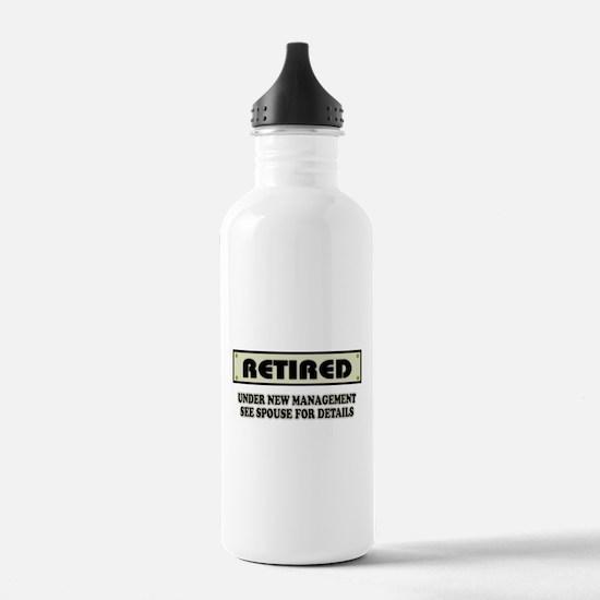 Funny Retirement Gift, Water Bottle