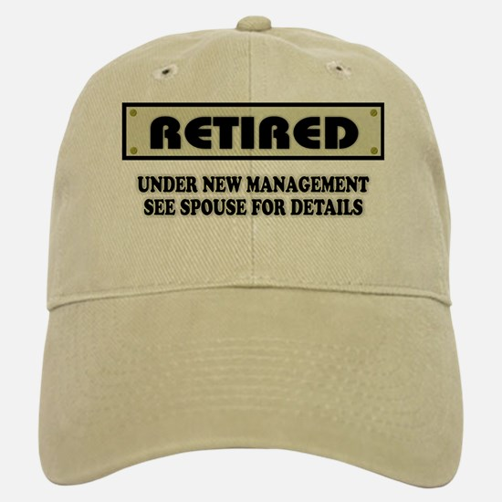 Gifts for funny retirement unique funny retirement gift ideas funny retirement gift retired under new mana baseball baseball cap negle Images