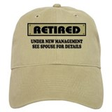 Funny retirement Baseball Cap