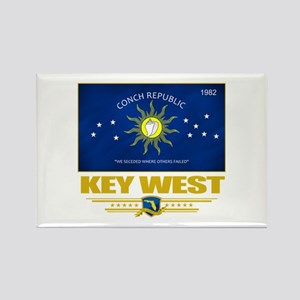 Key West Pride Rectangle Magnet