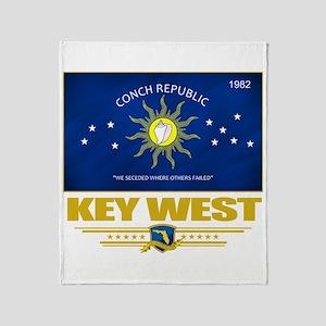 Key West Pride Throw Blanket