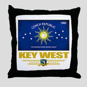 Key West Pride Throw Pillow