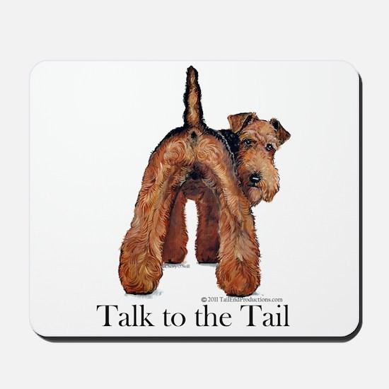 Airedale Terrier Talk Mousepad