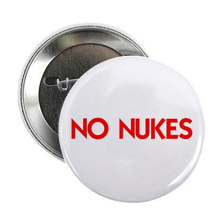 "NO NUKES 2.25"" Button (10 pack)"