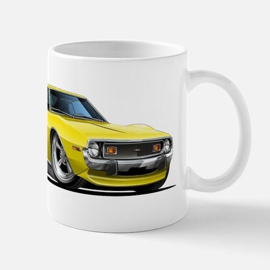 1971-74 Javelin Yellow Car Mug