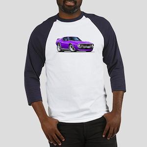 1971-74 Javelin Purple Car Baseball Jersey