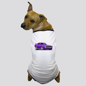 1971-74 Javelin Purple Car Dog T-Shirt