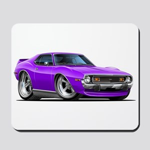 1971-74 Javelin Purple Car Mousepad