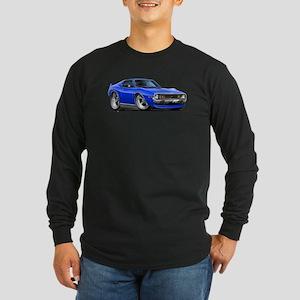 1971-74 Javelin Blue Car Long Sleeve Dark T-Shirt