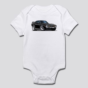 1971-74 Javelin Black Car Infant Bodysuit
