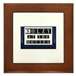 Solzy at the Movies Framed Tile
