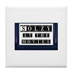 Solzy at the Movies Tile Coaster